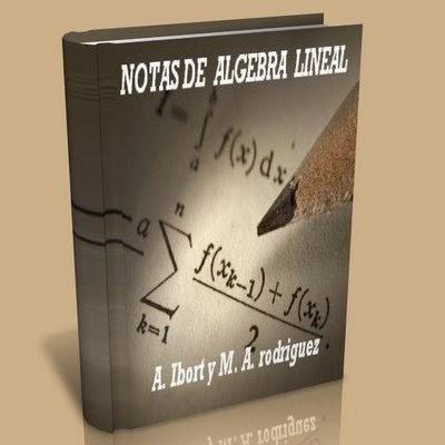 Notas de Algebra Lineal - A. Iborti | Libros y Software ... - photo#45