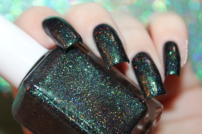 "Swatch of the nail polish ""Harbour Lights"" from Glam Polish  // What's In-die Box"