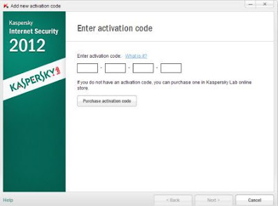 Key License Kasperrsky 2012