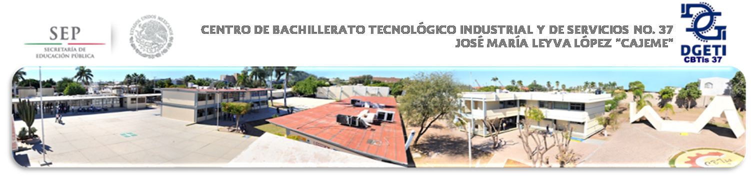 Centro de Bachillerato Tecnológico industrial y de servicios No. 37