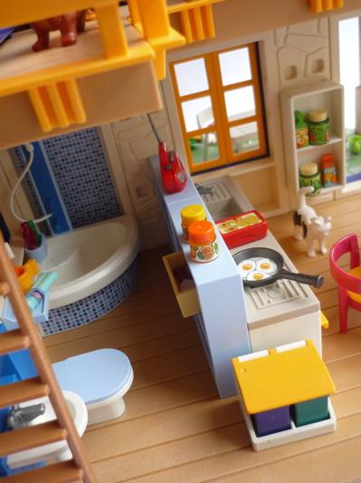 Maison de campagne playmobil interieur for Interieur maison de campagne