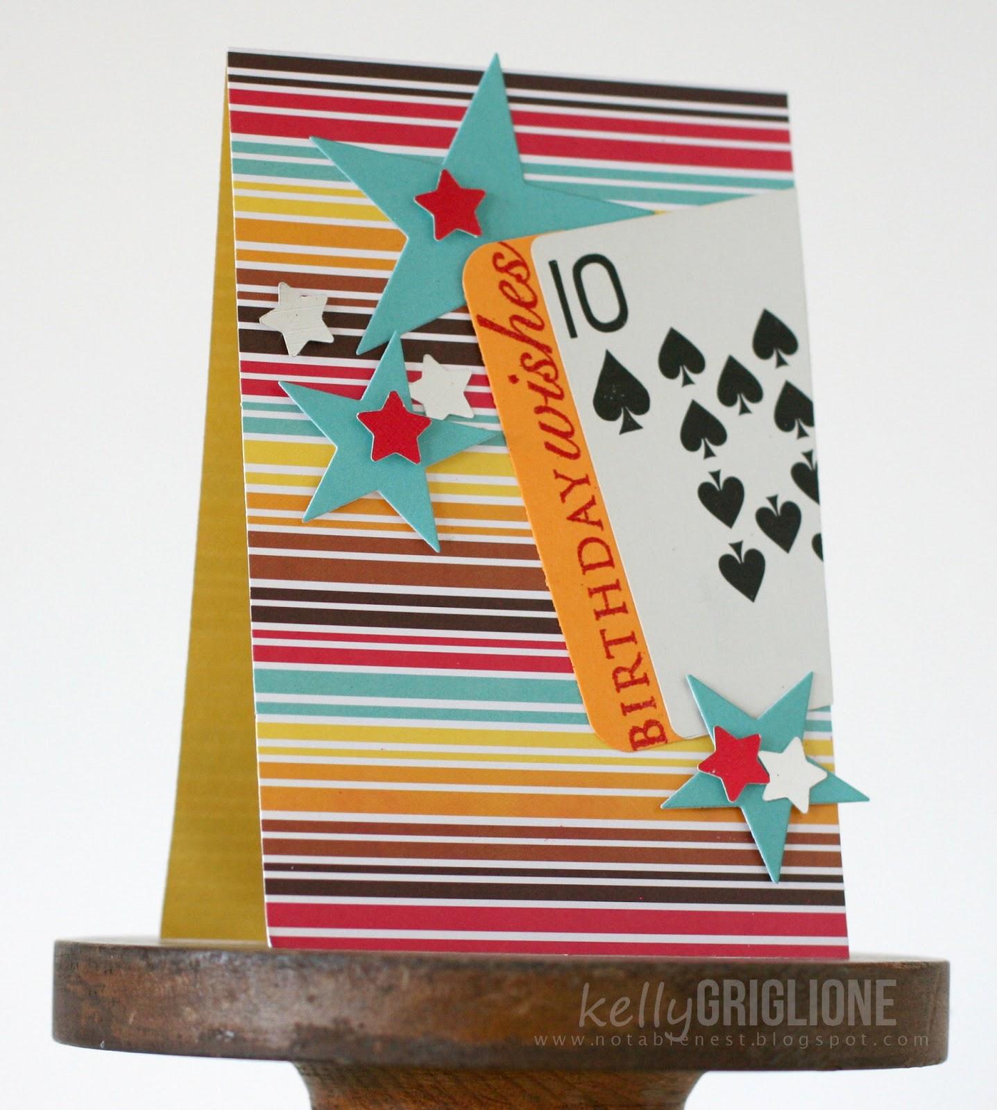 Papertrey April Blog Hop Playing Cards