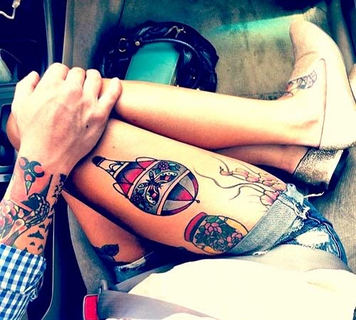 10 Sexy Thigh Tattoos For Women