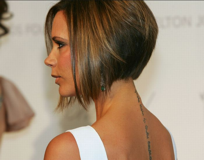 Hair Cut Styles: Barbietch: Victoria Beckham Hairstyles And Tattoo Gallery