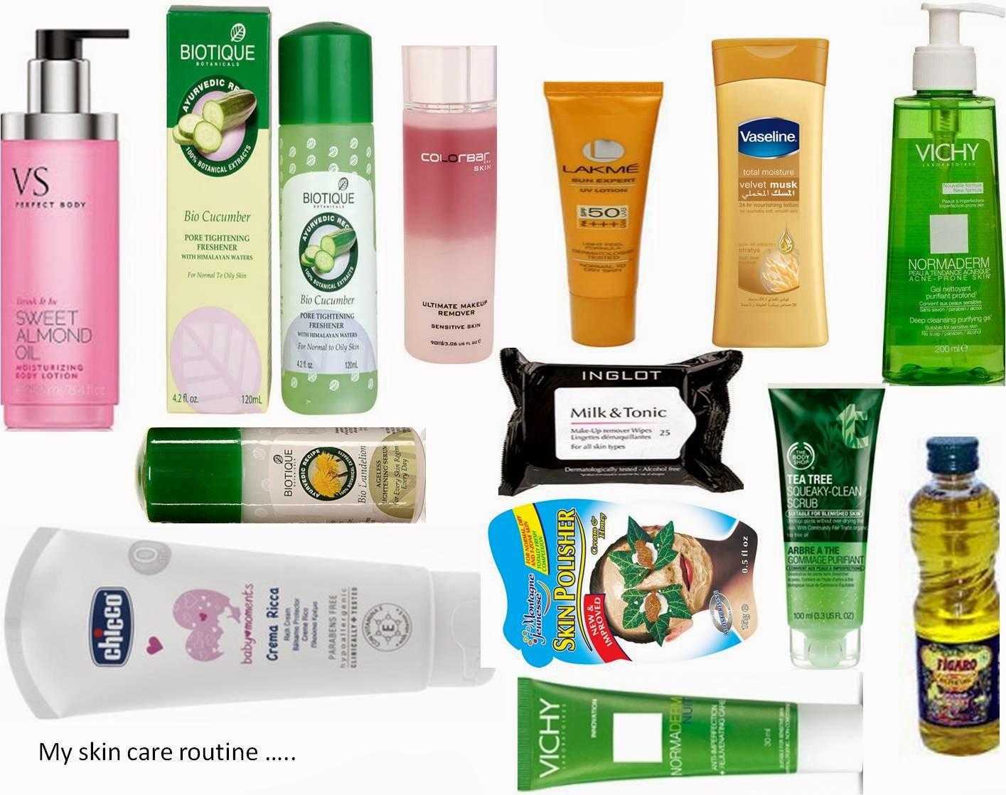 a skin care routine?