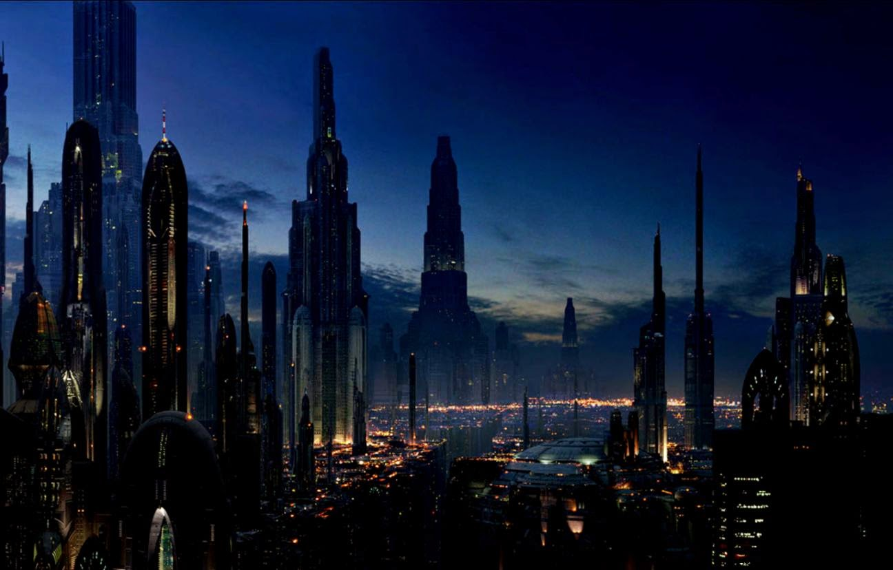 Futuristic City Skyline Wallpaper | Best HD Wallpapers