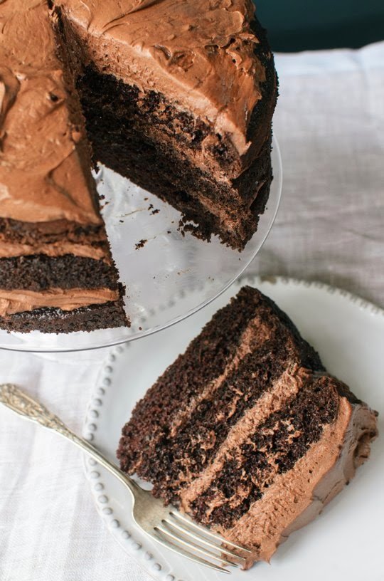 Chocolate Layer Cake | Cocinando con Alena