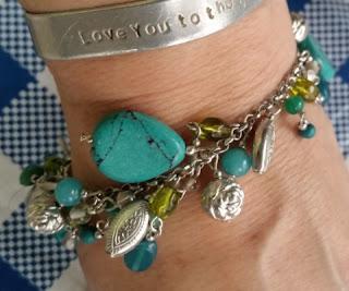 world vision drops of turquoise bracelet