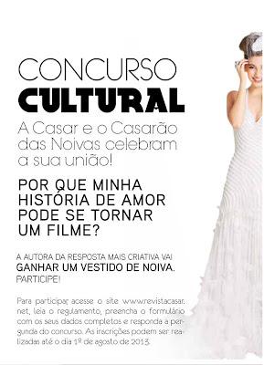 Concurso Cultural Revista Casar