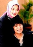 Penduduk di Tangsel Banten, Marissa Haque & Ikang Fawzi