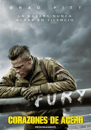 Poster Fury 2014
