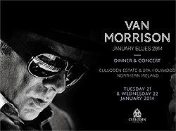Concierto de Van Morrison en Barcelona en diciembre