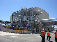 Geothermal Power Plant on Tasman Mill site, Kawerau NZ
