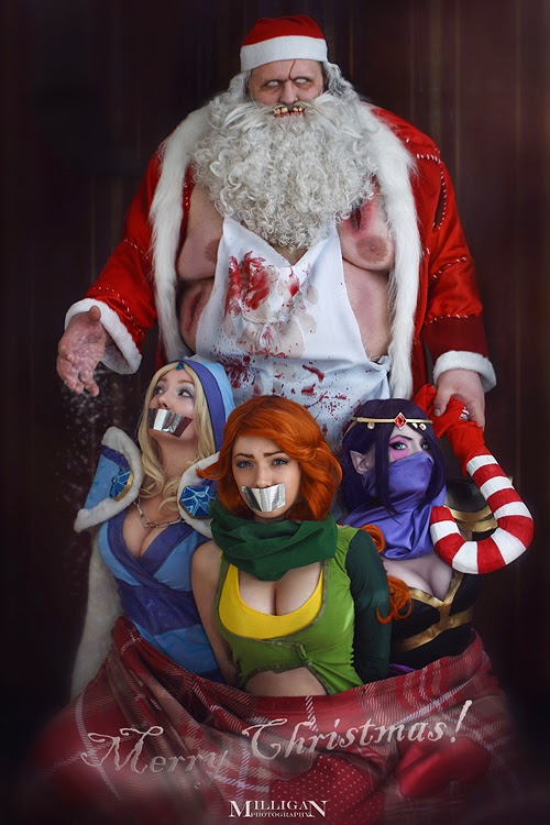 Dota 2 Cosplay Milligan's  Christmas