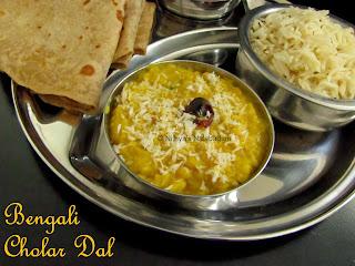 Bengali Cholar Dal