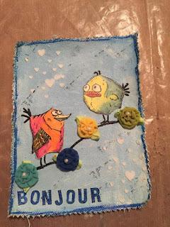 Hope for Haiti flag by Kim Gallant