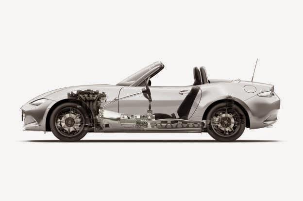 U.S.-Spec 2016 Mazda MX-5 Miata Getting 2.0-Liter Skyactiv I-4