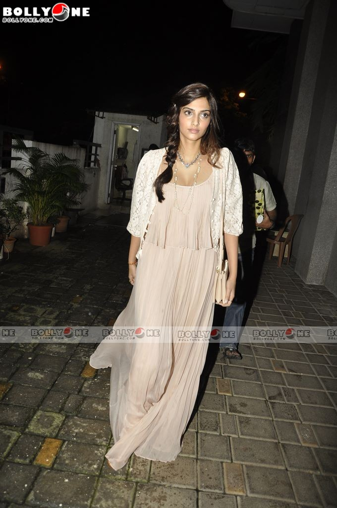 Sonam Kapoor at Imran khan Movie Success Party