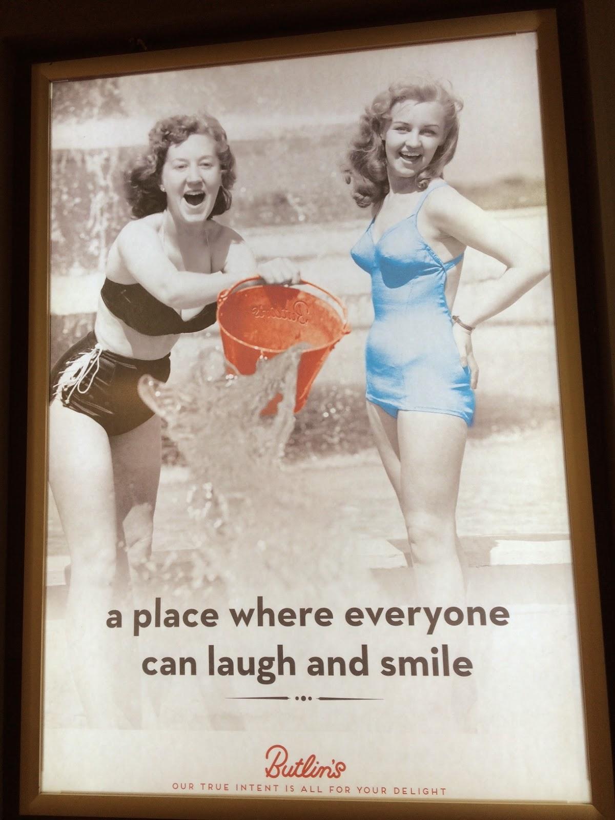 vintage Butlin's poster, Bognor