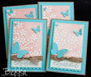 Beautiful Wings and Elegant Bouquet Cards