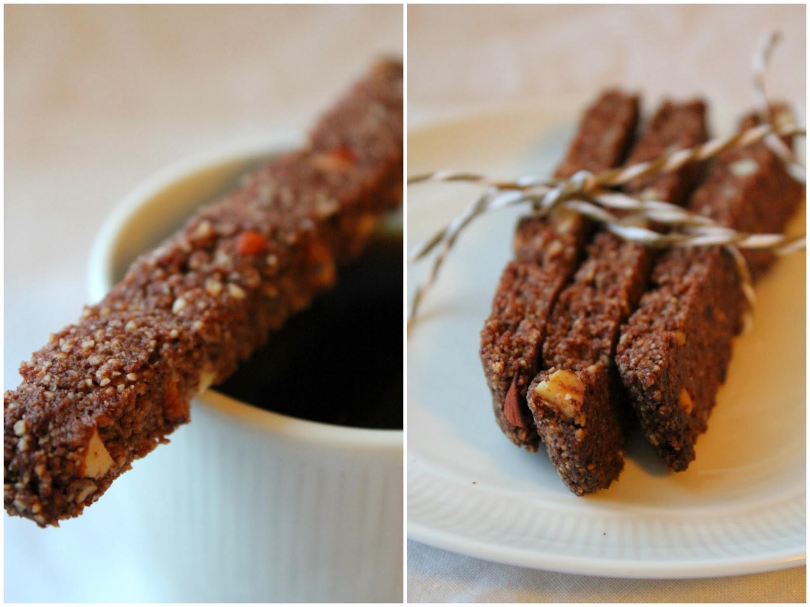 Mat for sjelen sjokolade biscotti - Lade bz ...