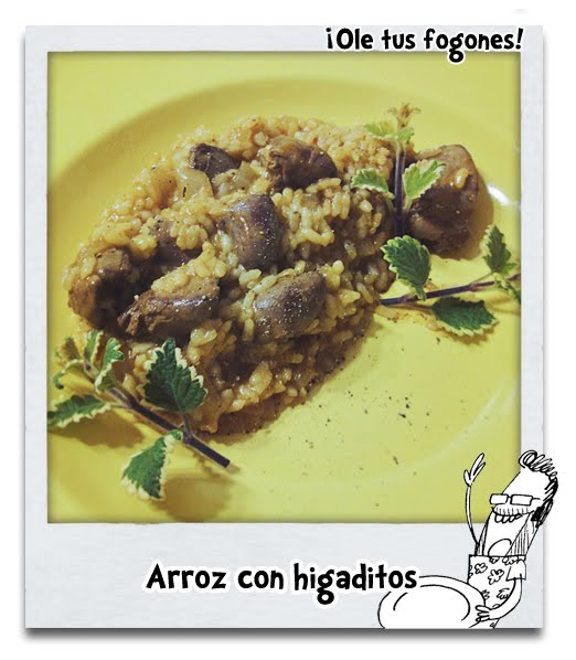 Arroz con Higaditos