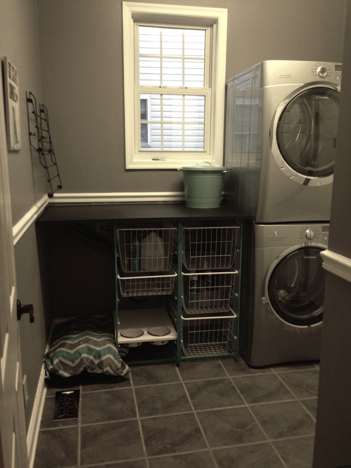 create quick laundry room update ellis page. Black Bedroom Furniture Sets. Home Design Ideas