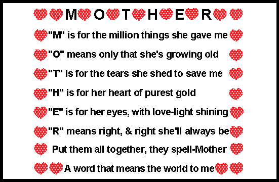 M is for mother quotes