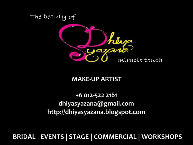 Dhiya Syazana | make-up artist