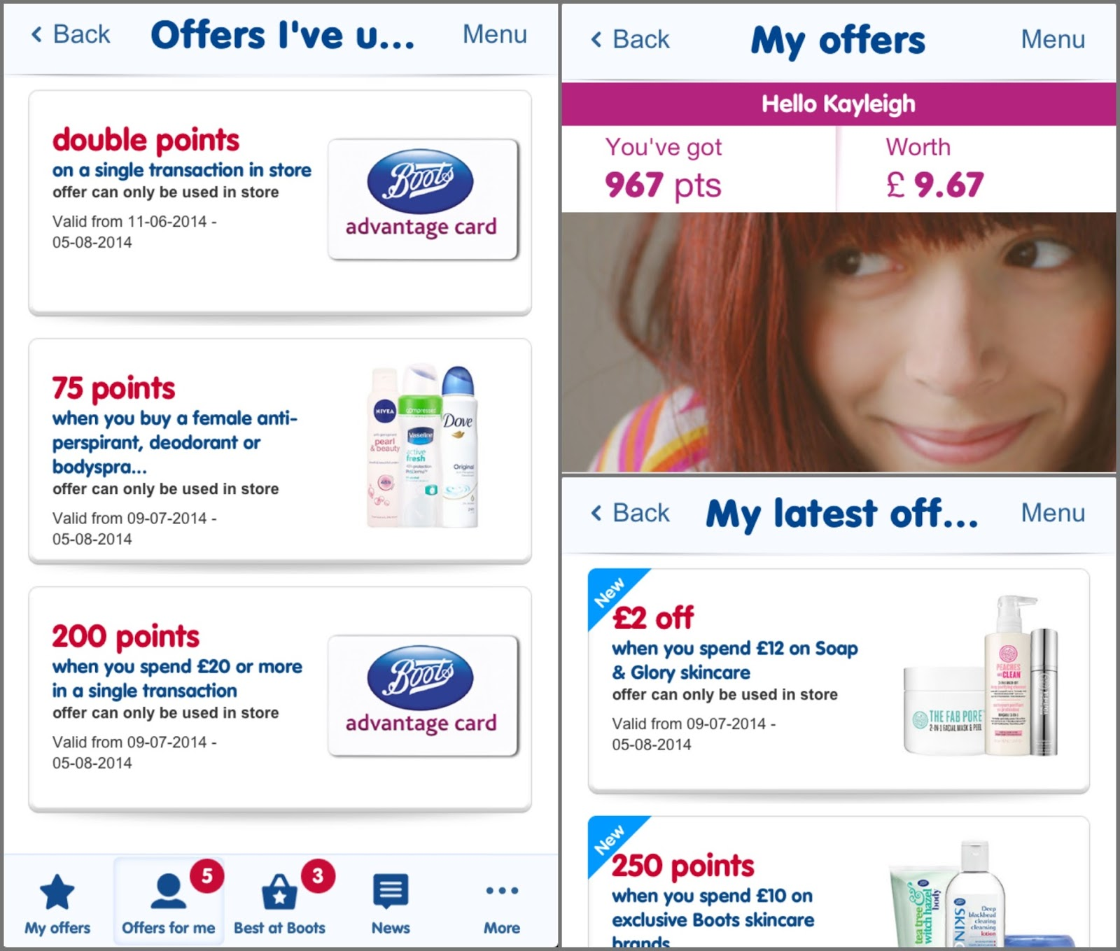 Boots Beauty Haul, Boots New Advantage Card App, Drugstore Beauty Haul,