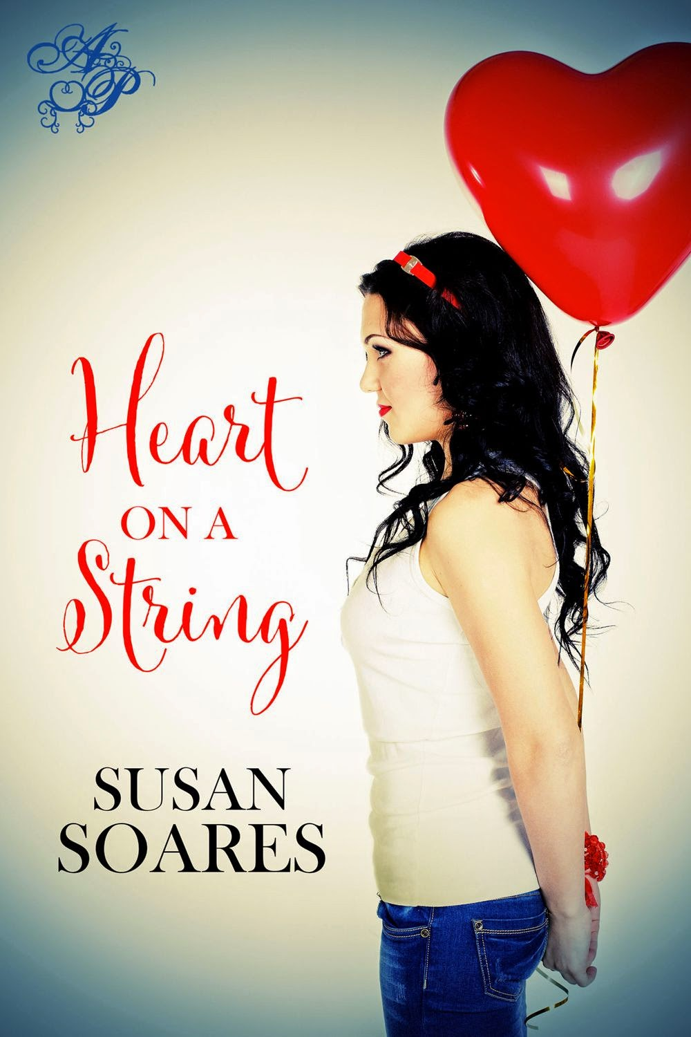 Book Cover - Heart on a String by Susan Soares