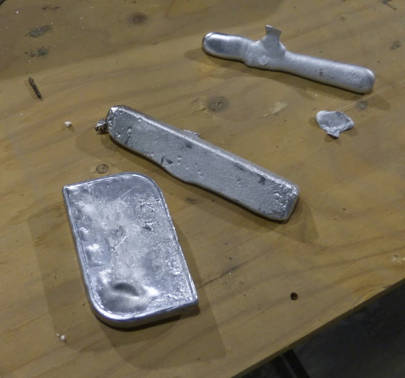 ingots and soap dish piece