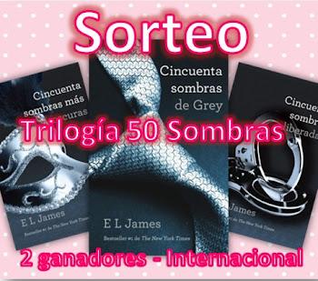 Sorteo Trilogía 50 sombras