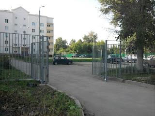 Забор металлический из профильной трубы. Фото 16
