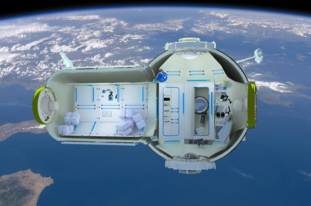 Space vacation orbiting hotel ready for guests by 2016