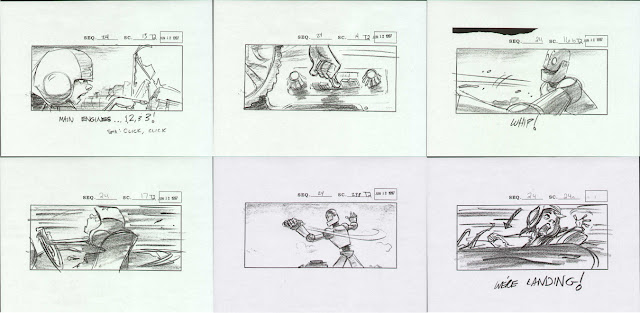 Storyboard - The Iron Giant