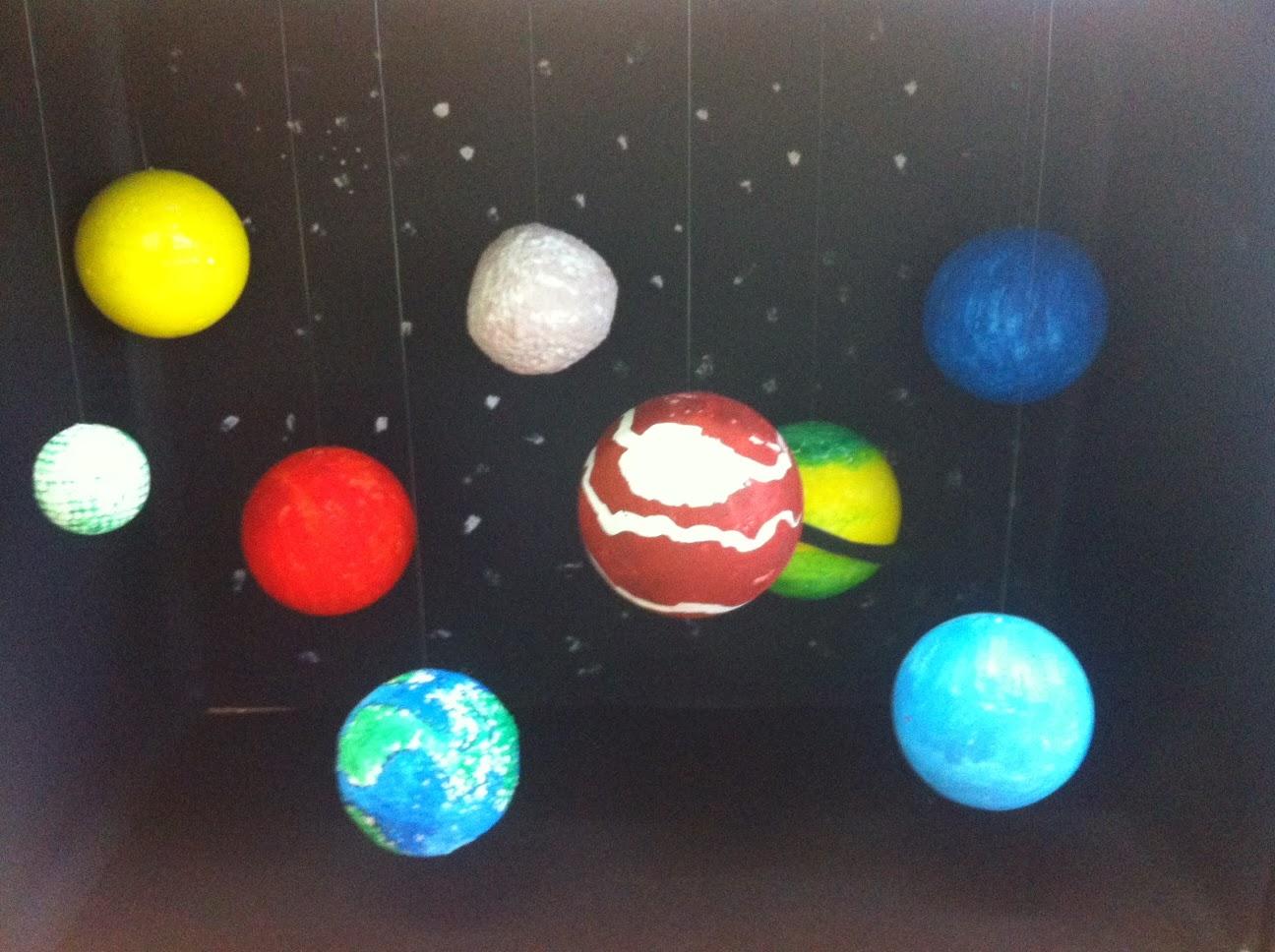 Maqueta Sistema Planetario Solar Youtube Maquetas T
