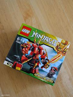 lego ninjago - kai's fire mech