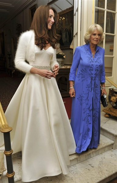 The OAK: Kate Middleton\'s Reception Evening Gown