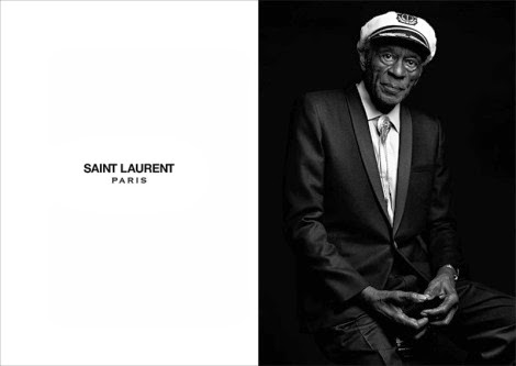 B.B. King by Hedi Slimane for Saint Laurent 'Music Project'