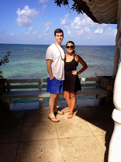 Me and my wife in Jamaica