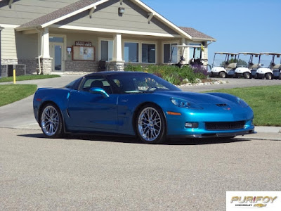 2010 Corvette ZR1 at Purifoy Chevrolet