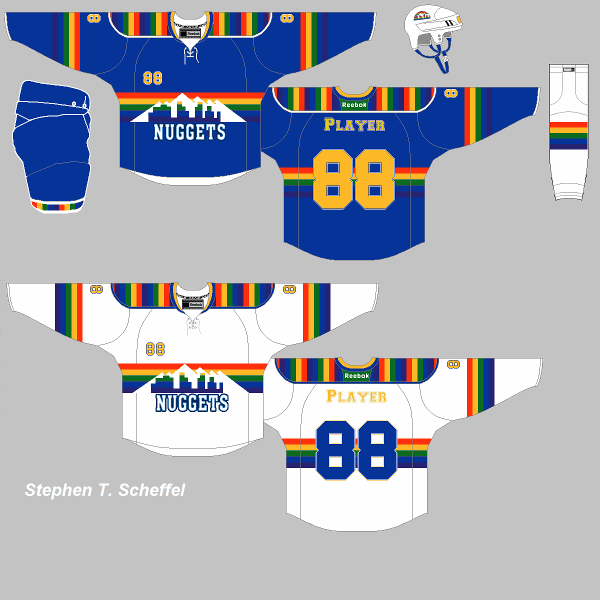 Nuggets Jersey Rainbow: Hockey Concept Ideas: March 2014