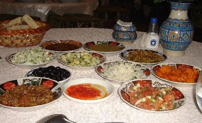 Gastronomía en Fez - Marruecos