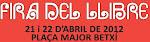Fira del llibre de Betxí. Presentació de Los Relatores.