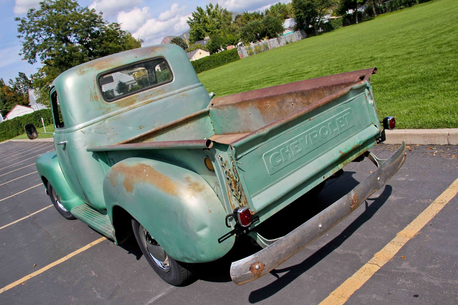 Up for sale i have a 1949 chevy 5 window pickup truck