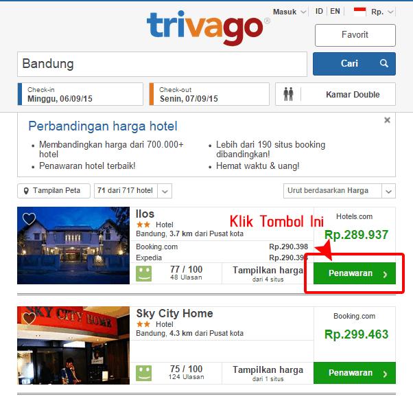 Hotel Murah di Trivago