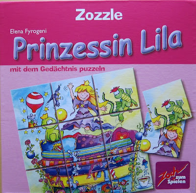 Zozzle - Prinzessin Lila, the box artwork