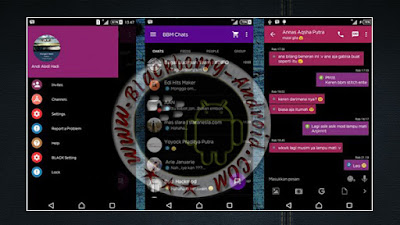 Ubdate BBM Mod v2.10.0.35 Tema Black Minimalist New With Change Color
