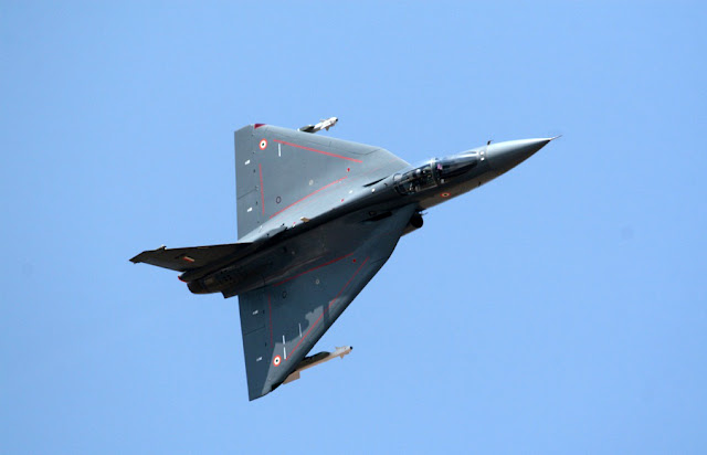 HAL Tejas top view